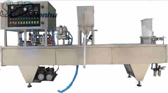 GF-4 plastic cup liquid filling sealing machine