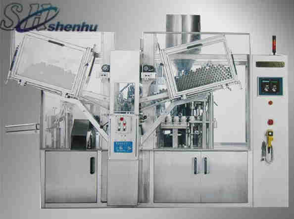 HTGF-150 high speed tube filling sealing machine
