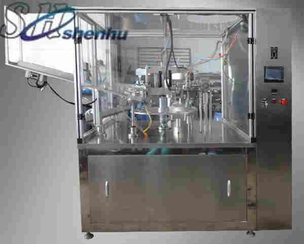 HTGF-80 toothpaste tube filling sealing machine